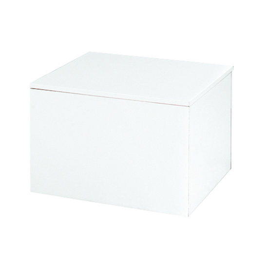 Cube Cocktail Table - 30″Square x 16″H - White